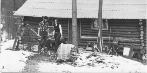 1975 Building Cabin